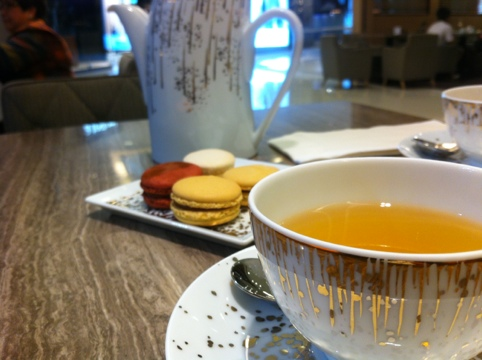 Most amazing Macaroons (At Le Gouter Bernardaud in Hong Kong IFC)