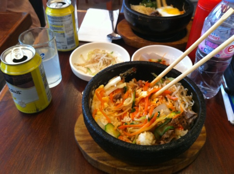 Korean hot bowl