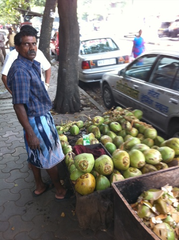 Fresh Coconut guy (India)