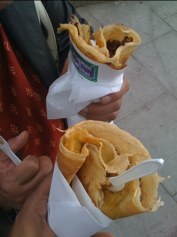 Crepes near Hampstead (London)