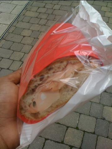 World best sandwich from Fine Foods Deli near London Bridge