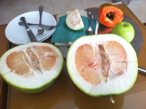 Some gigantic fruit in Asia (if you know the name, please let me know)