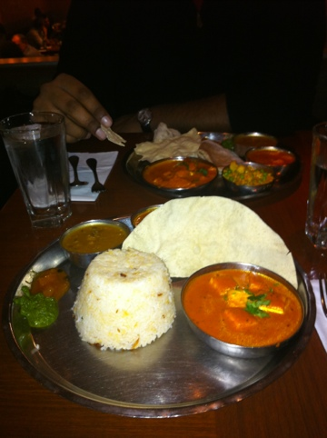 Coconut-style indian curry from Masala Zone in London